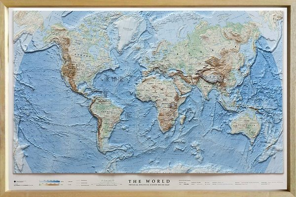 3D-Relief The World